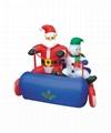 Inflatable Santa Claus, Christmas snowman 7