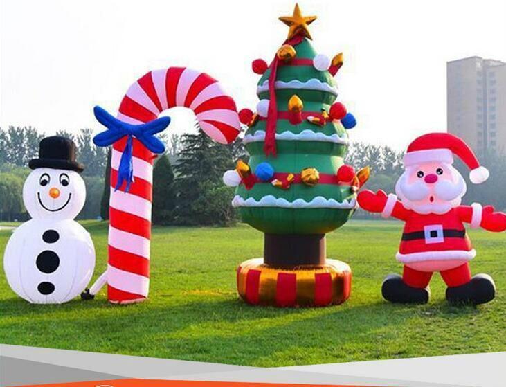 Inflatable Santa Claus, Christmas snowman 5