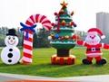 充氣聖誕老人(聖誕雪人) 5