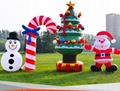 Inflatable Santa Claus, Christmas snowman 5
