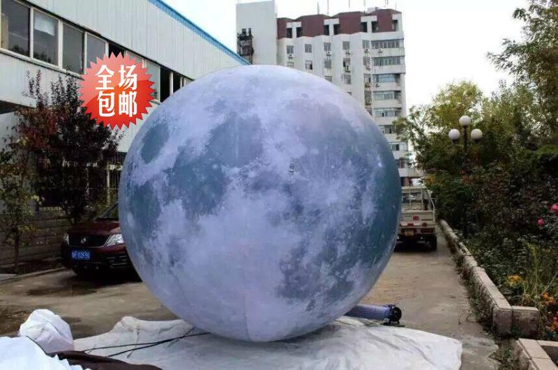 Inflatable Mid-Autumn moon 1