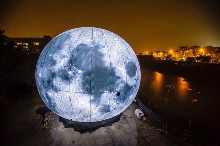 充氣中秋月球 4