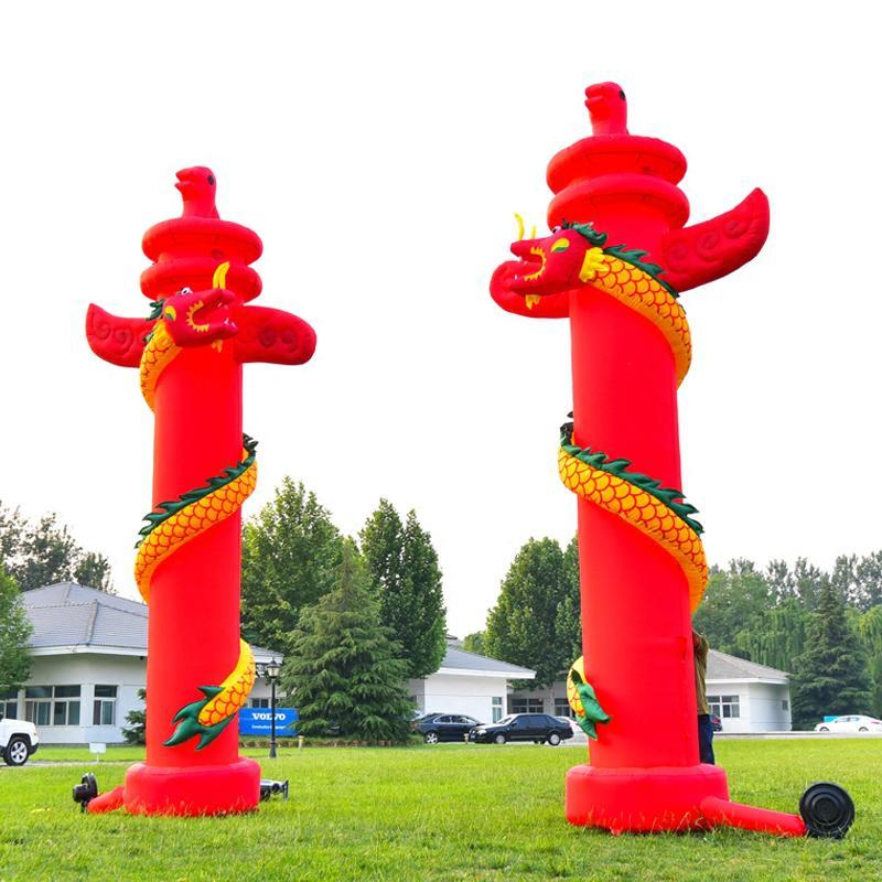 Inflatable lanterns column 4