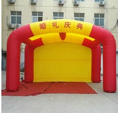 Inflatable advertising t