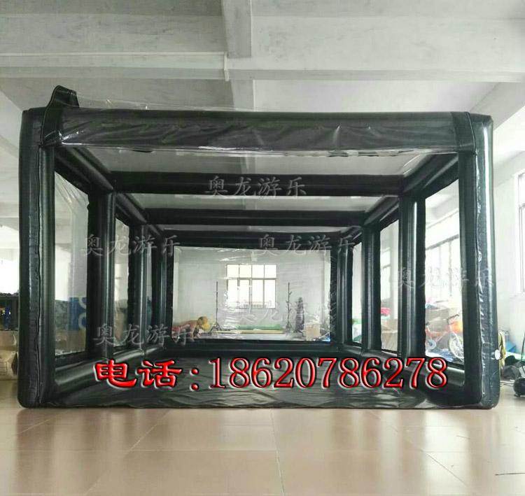 Inflatable car covers, transparent inflatable tent ,Advertising exhibition tent  3