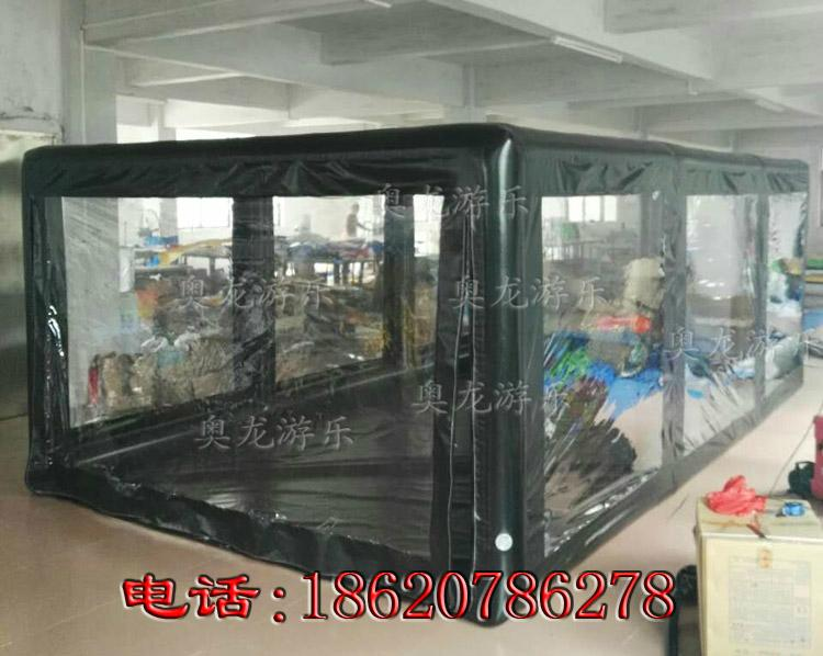 Inflatable car covers, transparent inflatable tent ,Advertising exhibition tent  2