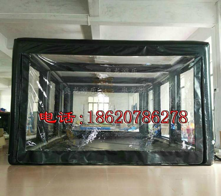 Inflatable car covers, transparent inflatable tent ,Advertising exhibition tent  1