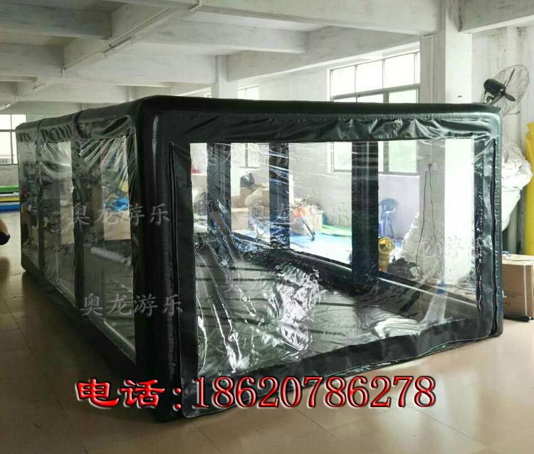Inflatable car covers, transparent inflatable tent ,Advertising exhibition tent  10