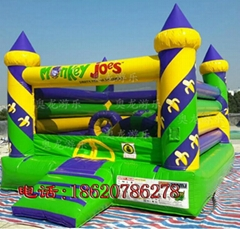 Inflatable castle trampo