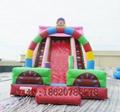 Inflatable trampoline slides 5