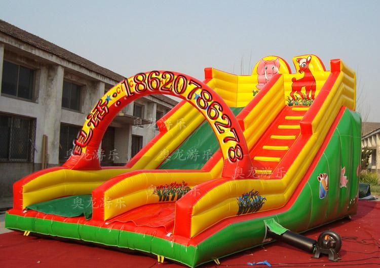 Inflatable trampoline slides 6
