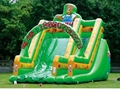 Inflatable trampoline slides 10