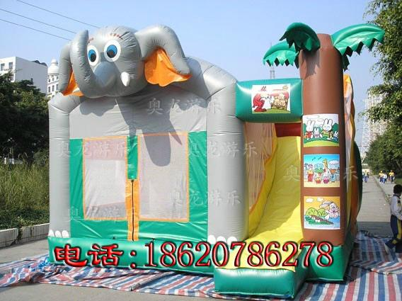 Inflatable animals trampoline 5