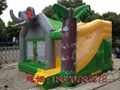 Inflatable animals trampoline 6