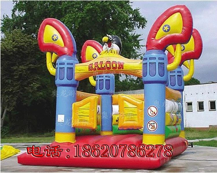 Inflatable animals trampoline 7