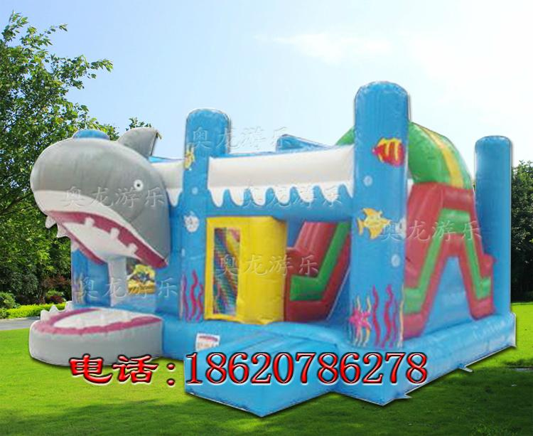Inflatable animals trampoline 8