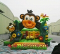 Inflatable animals trampoline 3