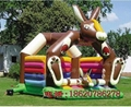 Inflatable animals trampoline 2
