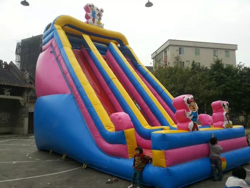 Inflatable cartoon slides 10