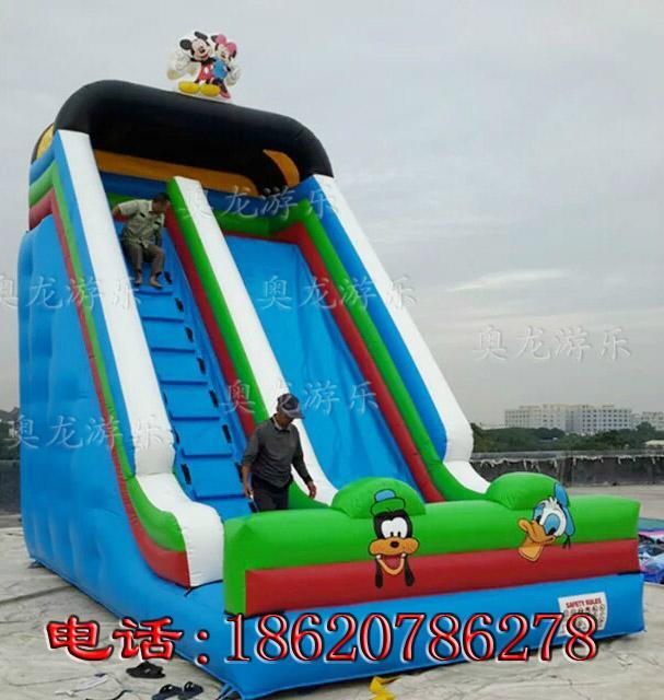 Inflatable cartoon slides 8
