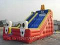 Inflatable cartoon slides 5