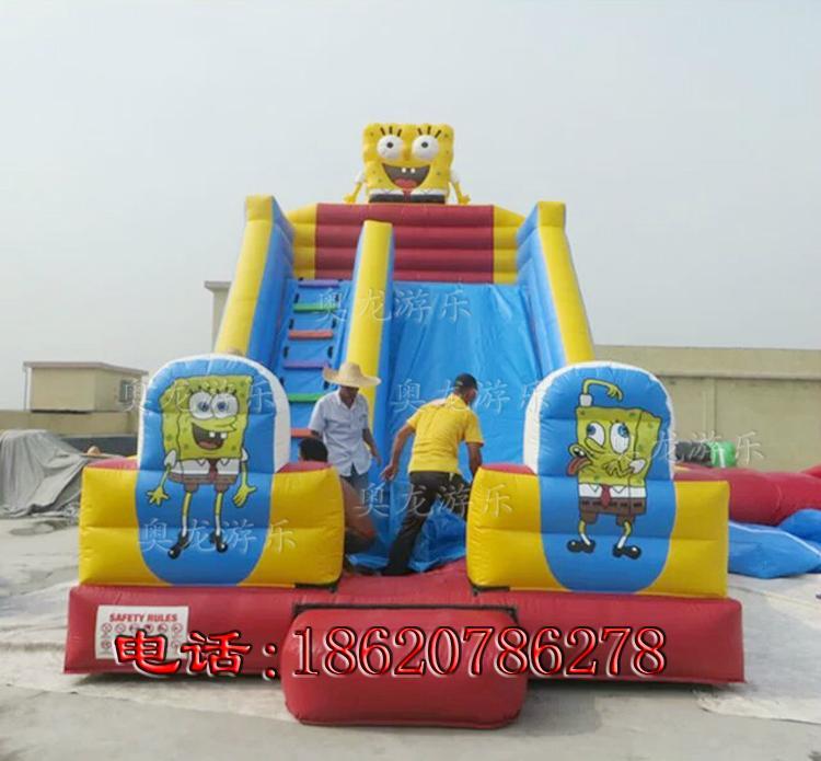 Inflatable cartoon slides 1
