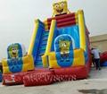 Inflatable cartoon slides 2