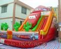 Inflatable cartoon slides 4