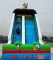 Inflatable cartoon slides 7