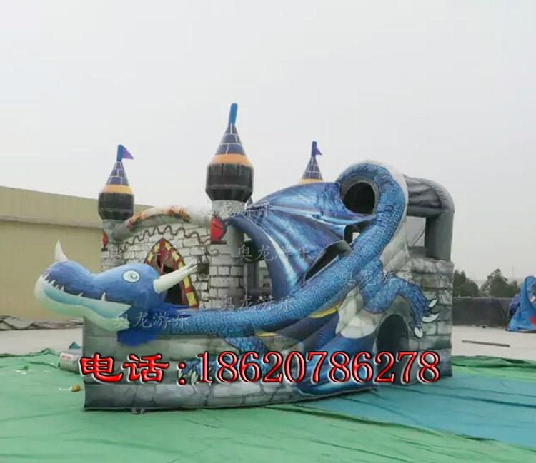 Inflatable pirate ship slide 3