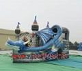 充氣海盜船滑梯 3