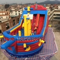 Inflatable pirate ship slide 6