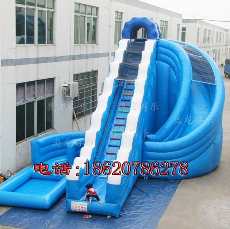 Indoor and outdoor large-scale inflatable slide 3