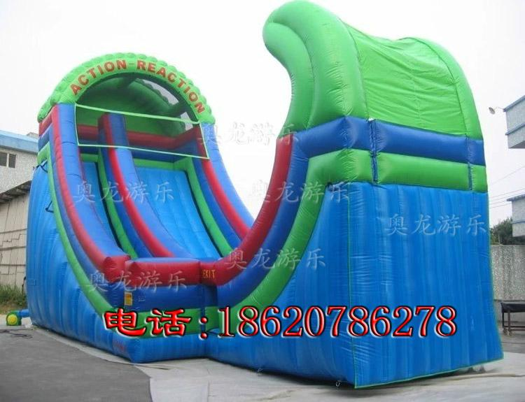 Indoor and outdoor large-scale inflatable slide 4