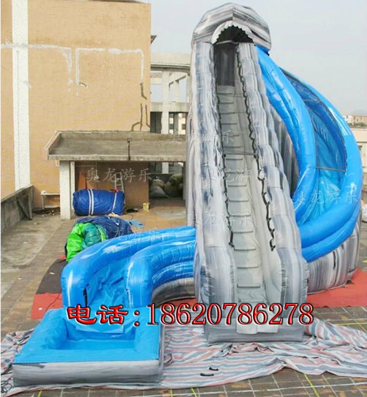 Indoor and outdoor large-scale inflatable slide 2