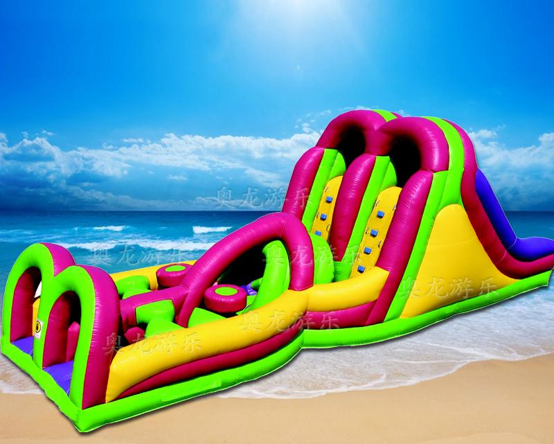 Indoor and outdoor large-scale inflatable slide 7