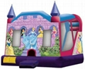 Inflatable Disney Princess Castle 5