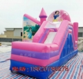 Inflatable Disney Princess Castle 4
