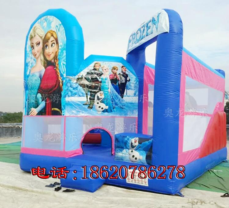 Inflatable Disney Princess Castle 2