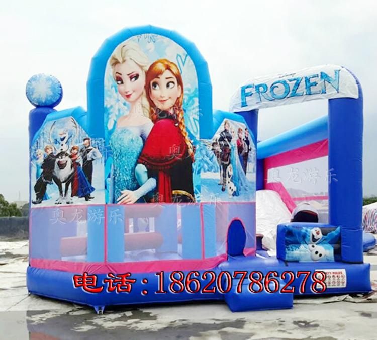 Inflatable Disney Princess Castle 1
