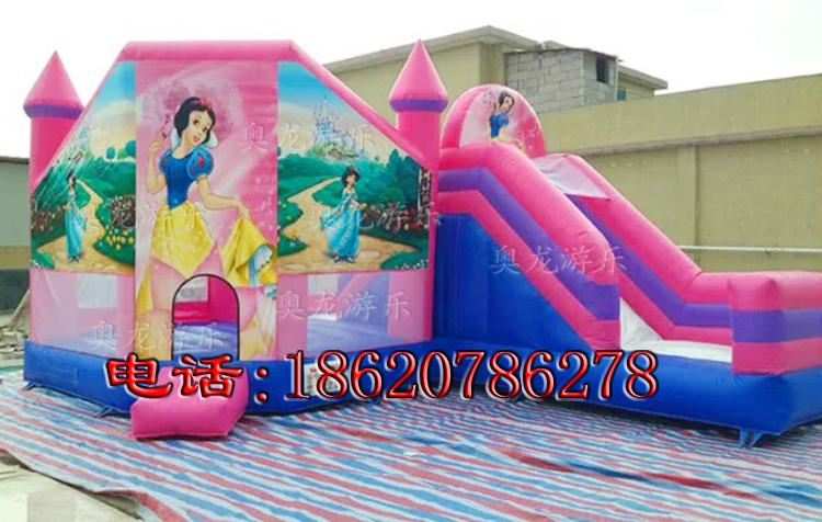 Inflatable Disney Princess Castle 3