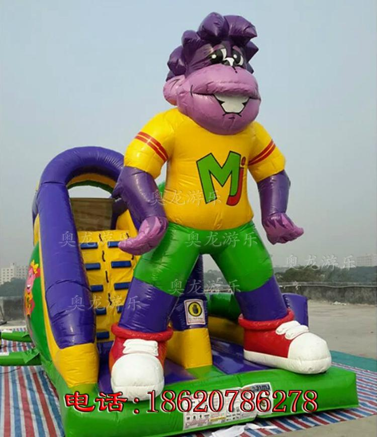 Inflatable cartoon slide 1