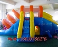 Inflatable ice and ice obstacle slide 4