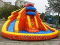 Inflatable ice and ice obstacle slide 8
