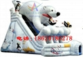Inflatable dalmatians slides