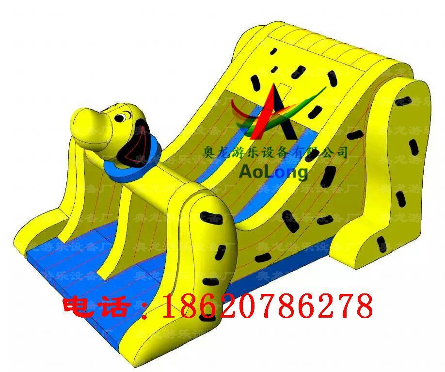 Inflatable dalmatians slides 3