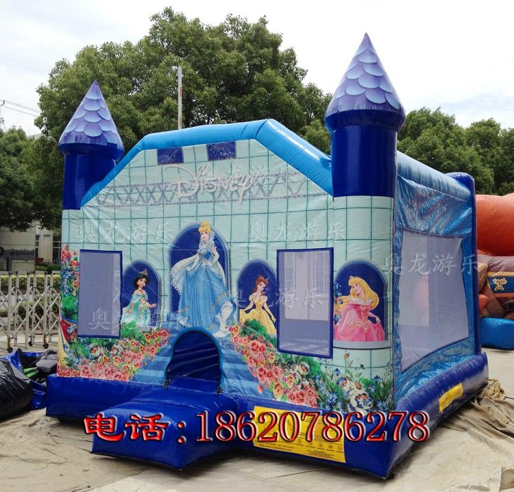 充气迪斯尼公主城堡