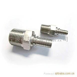 供應不同型號的不鏽鋼軟管接頭零部件 1