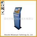 Multi-media metal touch kiosk for lobby