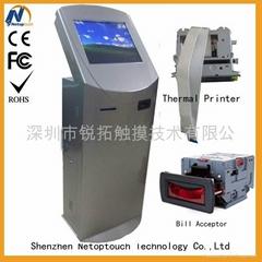 19'' touch screen kiosk